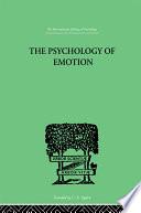 The Psychology Of Emotion