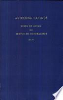 Liber De Anima Seu Sextus De Naturalibus