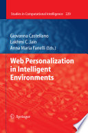 Web Personalization In Intelligent Environments book