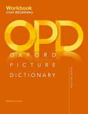 Oxford Picture Dictionary  High Beginning Workbook