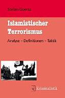 Goertz, Islamistischer Terrorismus