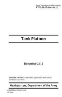 Army Techniques and Procedures ATP 3 20  15  FM 3 20  15  Tank Platoon December 2012
