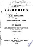 Select Comedies Book PDF