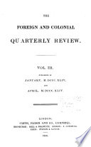 New Quarterly Review; Or, Home, Foreign and Colonial Journal