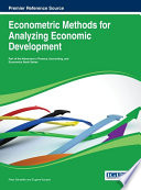Econometric Methods For Analyzing Economic Development