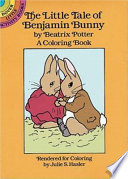 The Little Tale of Benjamin Bunny Coloring Book