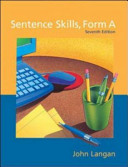 Sentence Skills  Form A  A Workbook For Writers