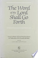 The Word of the Lord Shall Go Forth