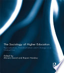 The Sociology Of Higher Education book