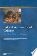 India S Undernourished Children