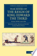 Year Books of the Reign of King Edward the Third