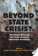Beyond State Crisis? : in-depth focus on specific countries...