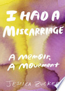 Book I Had a Miscarriage