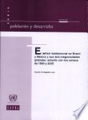 El déficit habitacional en Brasil y México y sus dos megaciudades globales