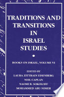 Traditions and Transitions in Israel Studies Book PDF