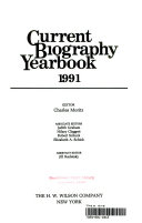 Current Biography Yearbook Book PDF