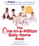 The One in a million Baby Name Book