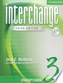 Interchange Student s Book 3 with Audio CD