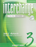 Interchange Student's Book 3 with Audio CD