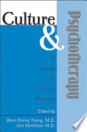 Culture And Psychotherapy book