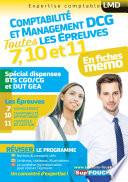 DCG Compta Management   Toutes les r  visions de l UE 7  10 11   Sp  cial dispense BTS CG et DUT GEA