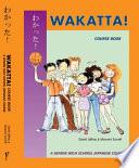 Wakatta  Course Book
