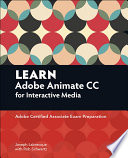 Learn Adobe Animate CC for Interactive Media