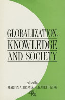 Globalization  knowledge  and society