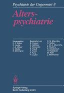 Alterspsychiatrie
