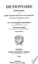 Dictionnaire Apostolique