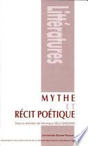 Mythe et récit poétique