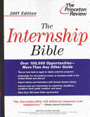 The Internship Bible 2001