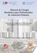 Manual De Cirug A Bari Trica Para Profesionales De Atenci N Primaria
