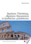 System Thinking  System Dynamics e politiche pubbliche