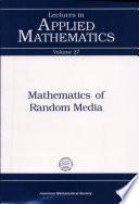 Mathematics of Random Media