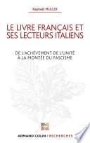 Le livre fran  ais et ses lecteurs italiens
