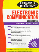 Schaum s Outline of Theory and Problems of Electronic Communication