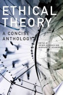 Ethical Theory   Second Edition