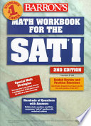 Barron s Math Workbook for the SAT I