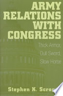 Army Relations with Congress