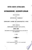 Urkundenbuch des Stiftes Klosterneuburg bis zum ende des vierzehnten Jahrhundrets