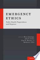 Emergency Ethics