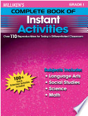 Milliken S Complete Book Of Instant Activities Grade 1
