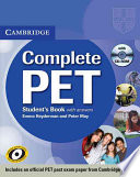 Complete PET Student s Book with Answers with CD ROM