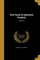 TEXT BK OF OPERATIVE SURGERY V