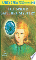 nancy drew 45 the spider sapphire mystery