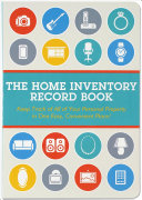 Home Inventory Record Book