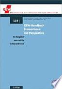 GEW-Handbuch Promovieren mit Perspektive