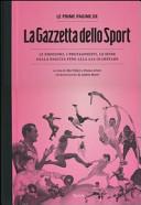 Le prime pagine de La gazzetta dello sport