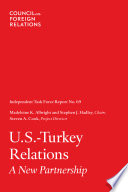 U S  Turkey Relations  A New Partnership